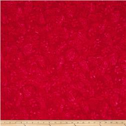 Timeless Treasures Tonga Batik Rose Butterfly Red
