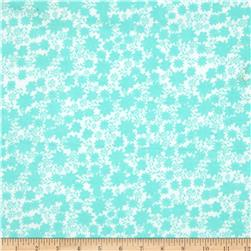 Flannel Flowers Turquoise
