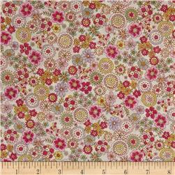 Cosmo Garden Delight Outlined Flowers Lawn Cream