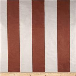 Vintage Suede Stripe Chocolate/Light Grey
