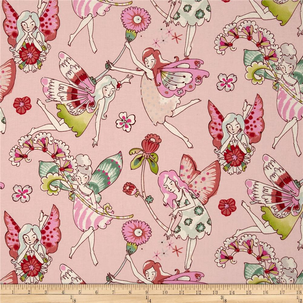 Michael Miller Petal Flower Fairies Cotton Fabric DC5057 900x900 Everyday