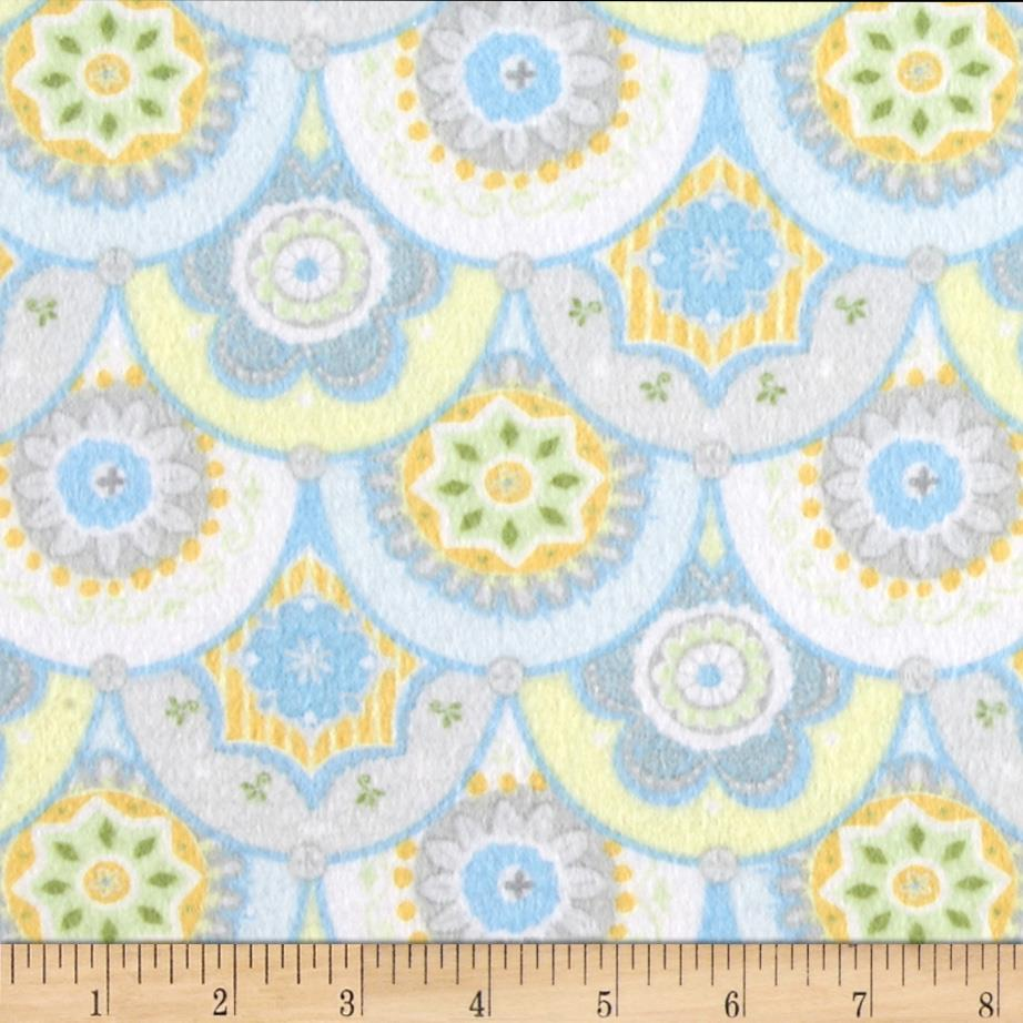 Precious baby flannel decorative clamshell blue discount for Cheap baby fabric