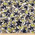 Kanvas Camo Mix 4 Star Camo White