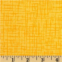 110 In. Wide Quilt Back Betula Yellow Fabric