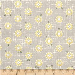ADORNit You & Me Sweet Daisy Light Gray