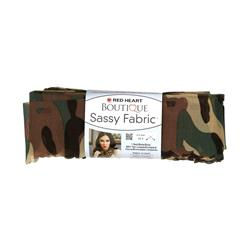 Red Heart Boutique Sassy Fabric Camouflage