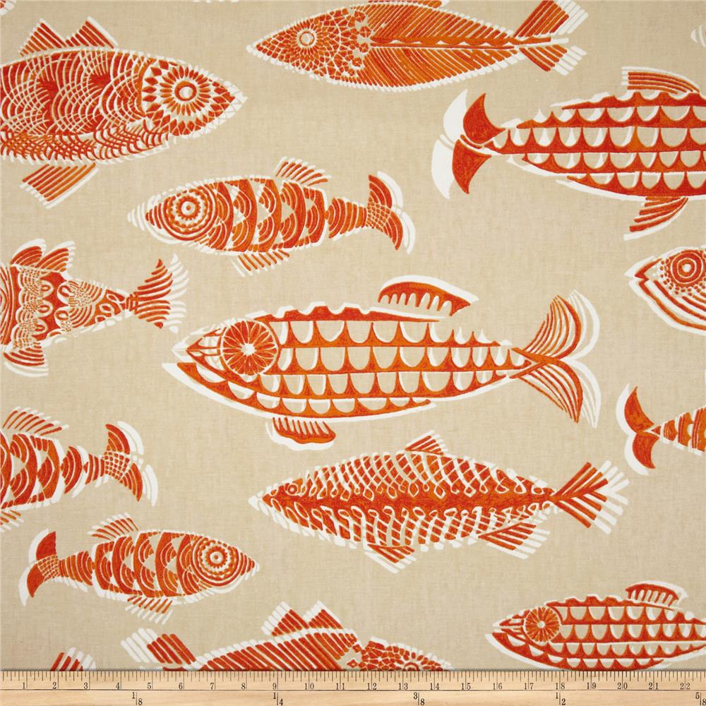 Tommy Bahama Home Fishful Thinking Coral Reef