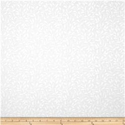 "Essentials 108"" Climbing Vine White On White"