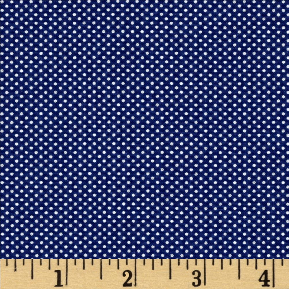 Moda Dottie Tiny Dots Royal