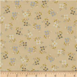 Color Love Tossed Florals Light Brown/Blue