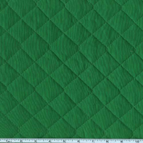 Double-sided Quilted Broadcloth Grass Green
