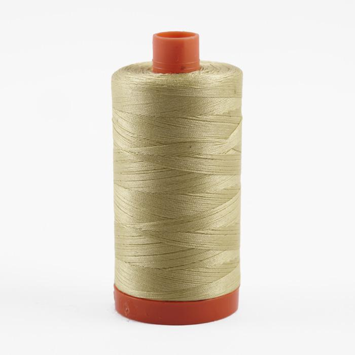Aurifil Quilting Thread 50wt Light Lemon