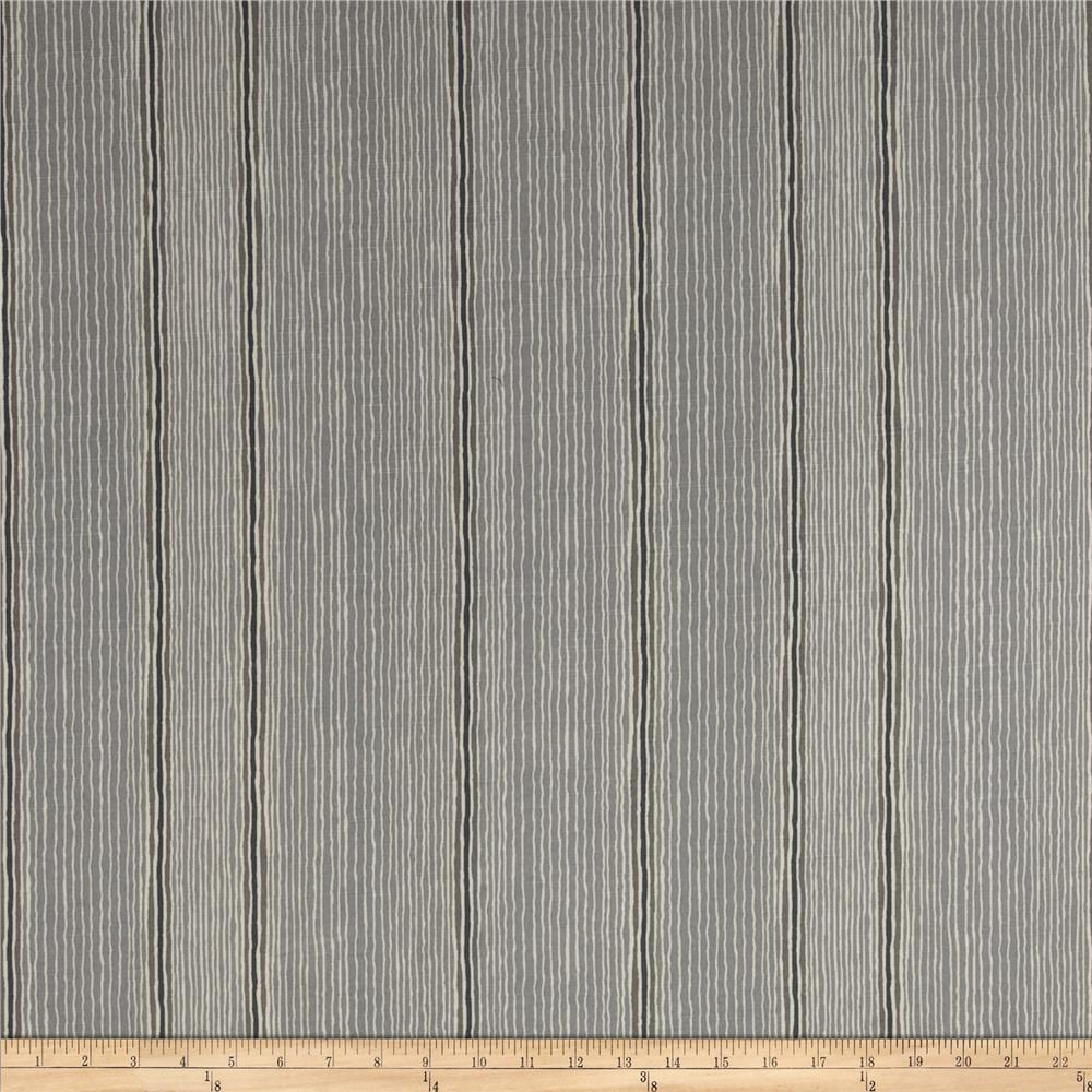 Robert Allen Promo Wish Again Stripe Pewter