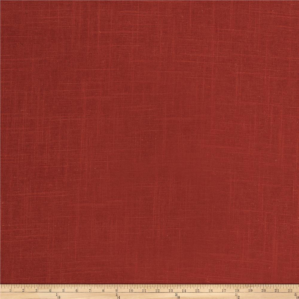 Fabricut Neighbor Linen Blend Cherry