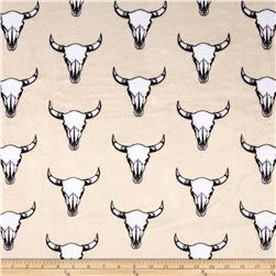 Minky Cuddle Prints Bull's Eye Beige