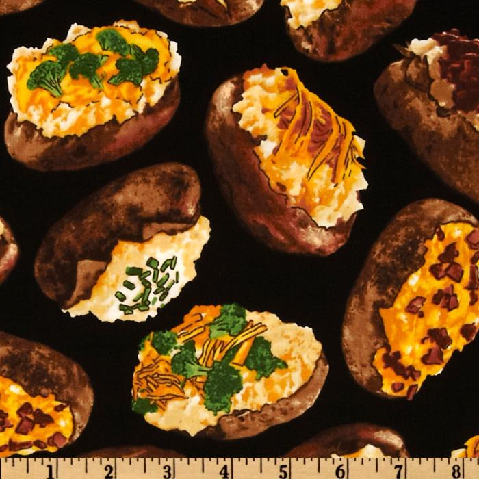 Got The Munchies? Loaded Potatoes Black