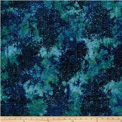 Island Batik Bubble Hole Jungle Water