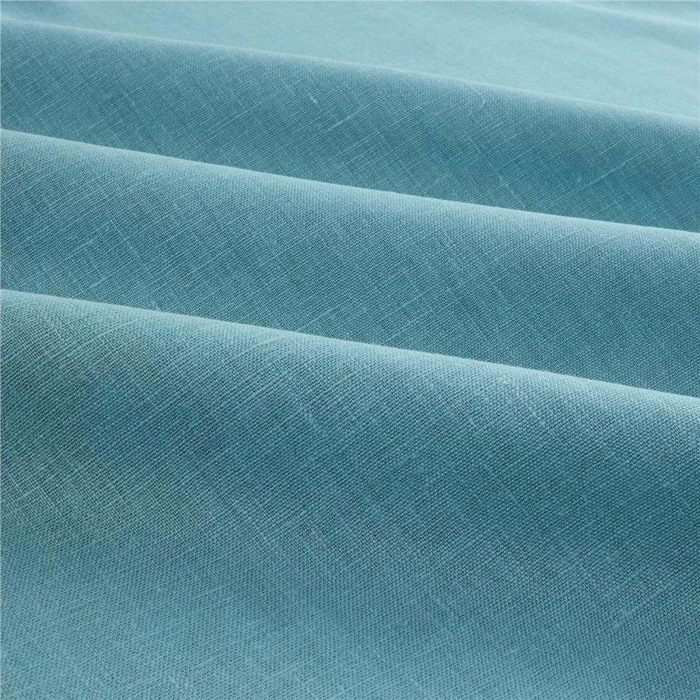 European Linen Fabric Ice Blue