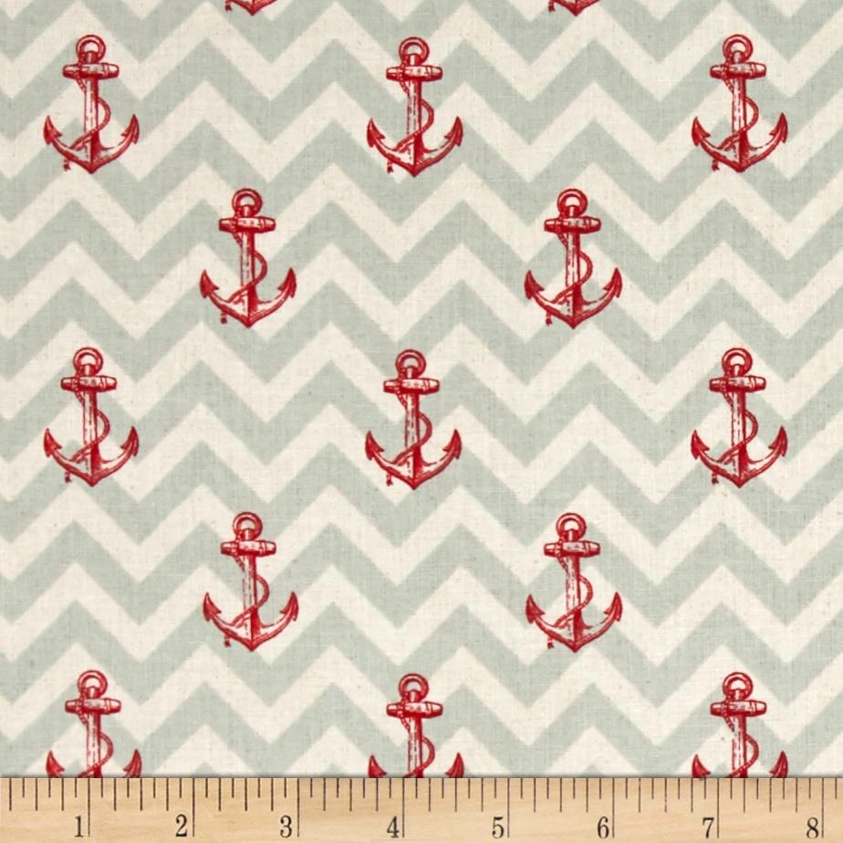 Drift Away Anchors Seafoam