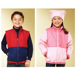 Kwik Sew Unisex Children's Jacket & Vest Pattern