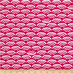 Koi Organic Cotton Canvas Smile & Wave Rose