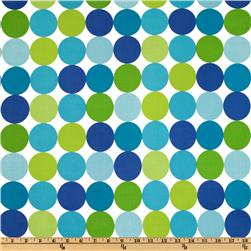 Michael Miller Disco Dot Caribe Fabric