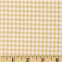 Gingham 1/8'' Checks Galore Beige