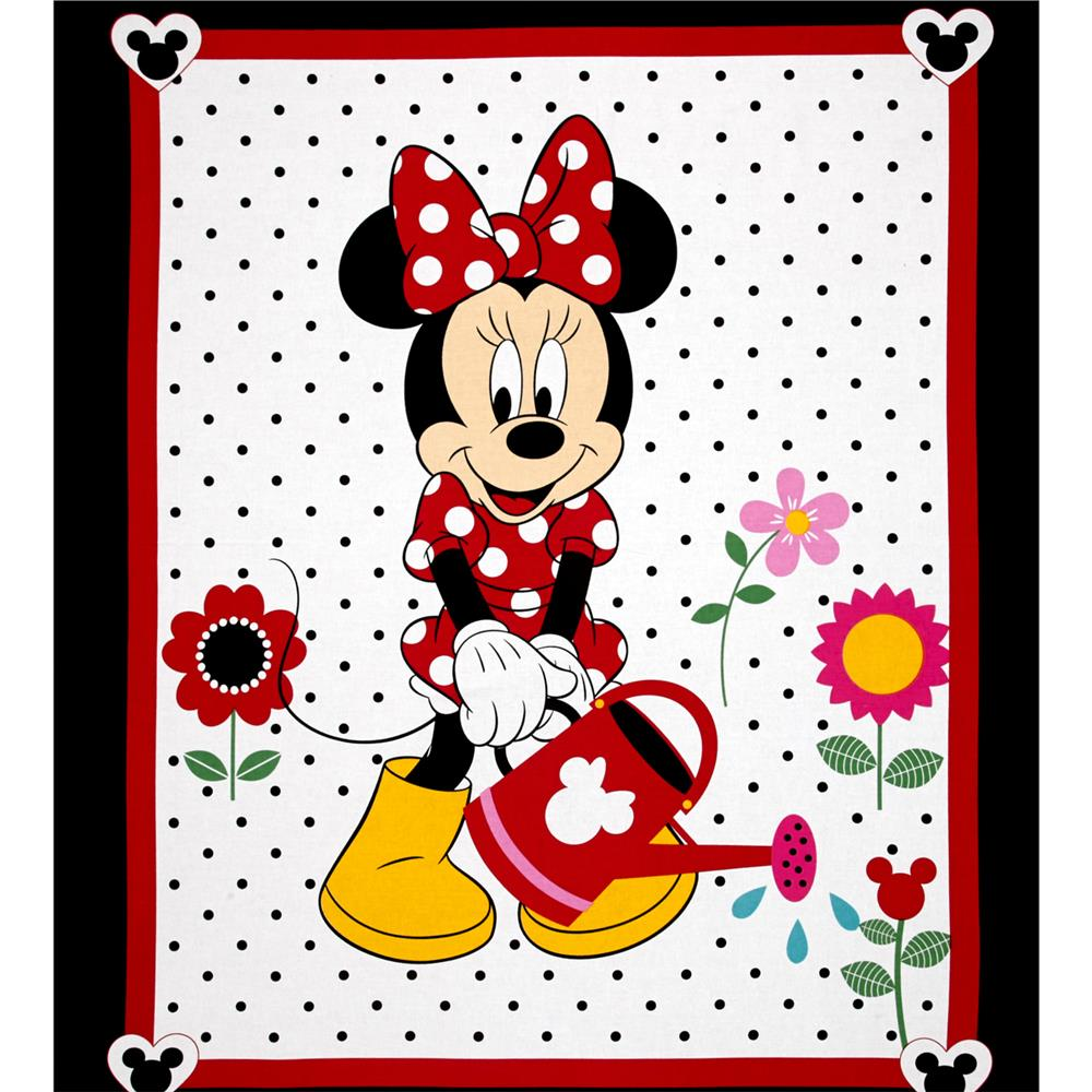 Disney Minnie Traditional Grow Your Own Panel White