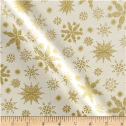 Season's Greeting Snowflakes Cream