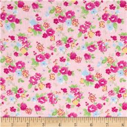 Newcastle Flannel Sweet Pea Pink