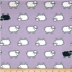 Aunt Polly's Flannel Sheep Lavender
