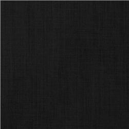 Premium Broadcloth Solid Black Fabric