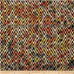 Indian Batik Urban Ethnic Ikat  Multi