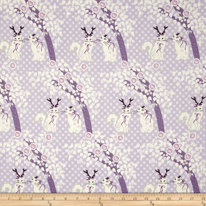 Michael Miller The Highlands Native Territory Lilac Fabric by Michael Miller in USA