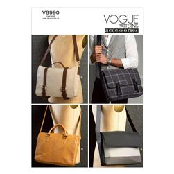 Vogue Bags Pattern V8990 Size OSZ