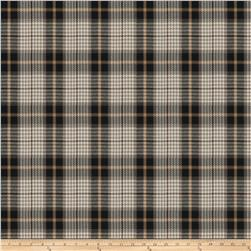 Fabricut Puran Plaid Coal