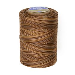 Coats & Clark Star Mercerized Cotton Quilting Thread Multicolor Thread 1200 Yd. Chocolate Swirl