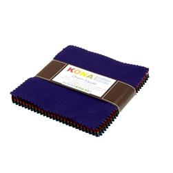"Kona Cotton New Dark 5"" Charm Squares"