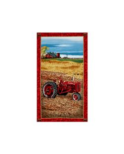 On The Farm Tractor Panel Multi