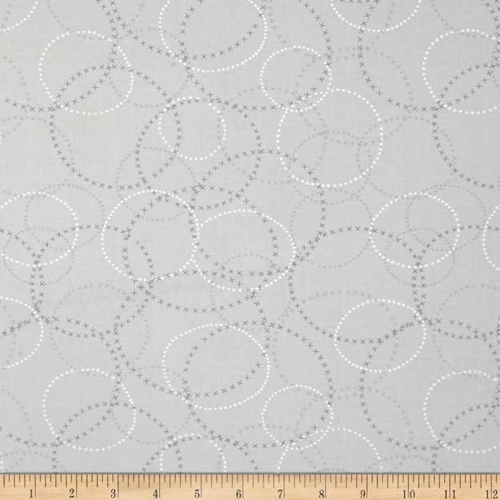 Moda Modern Background Ink XOXO Zen Grey