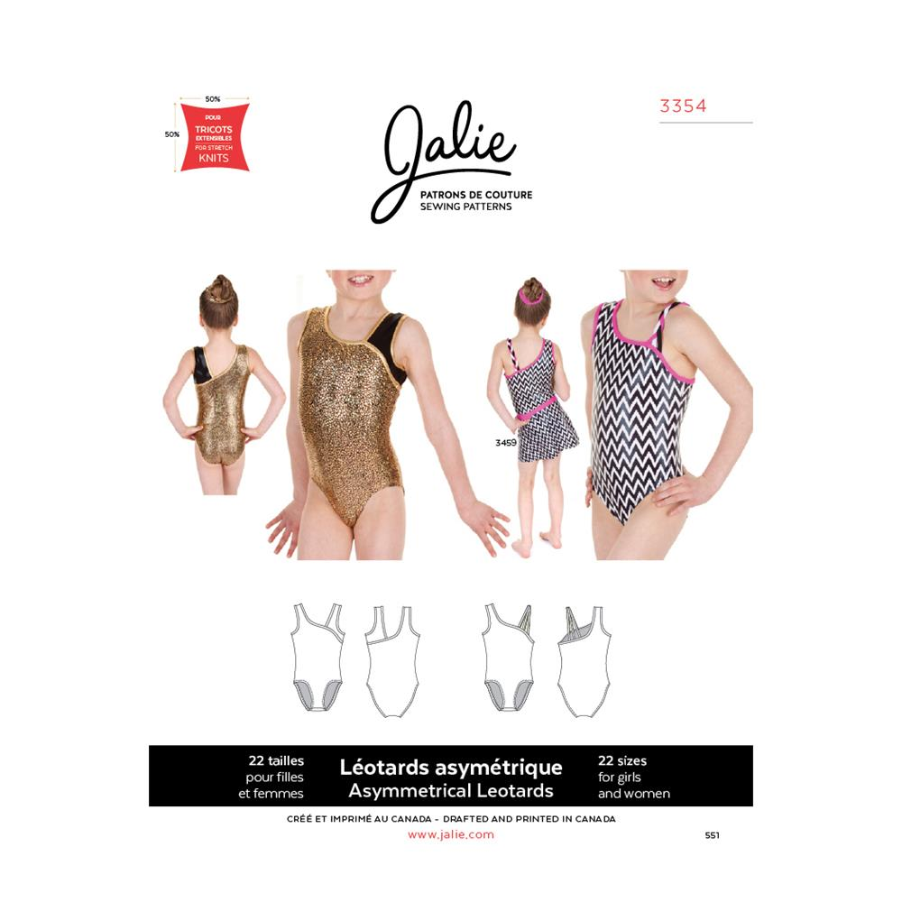 Jalie Asymmetrical Gymnastics Leotard Pattern