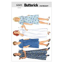 Butterick Women's/Women's Petite Dress Pattern B6601 Size 16W
