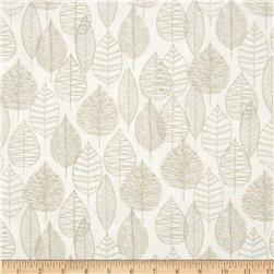 Bark & Branch Organic Line Leaf Grey