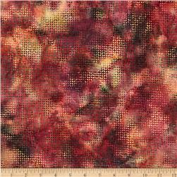 Bali Batiks Handpaints Tiny Leaf Mulberry