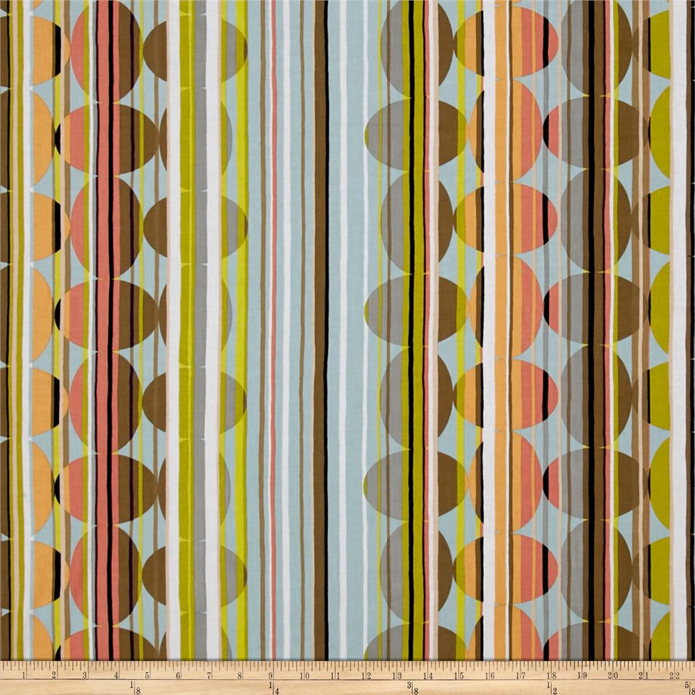 Contempo Dwellings Beaded Stripe Salmon/Multi