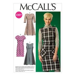 McCall's Misses' Dresses Pattern M7014 Size A50