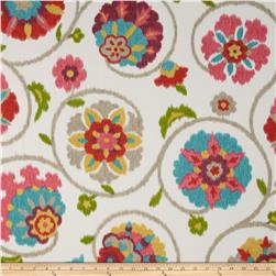 P Kaufmann Indoor/Outdoor Pamir Tangerine Fabric