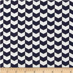 Kate Chevron Indigo