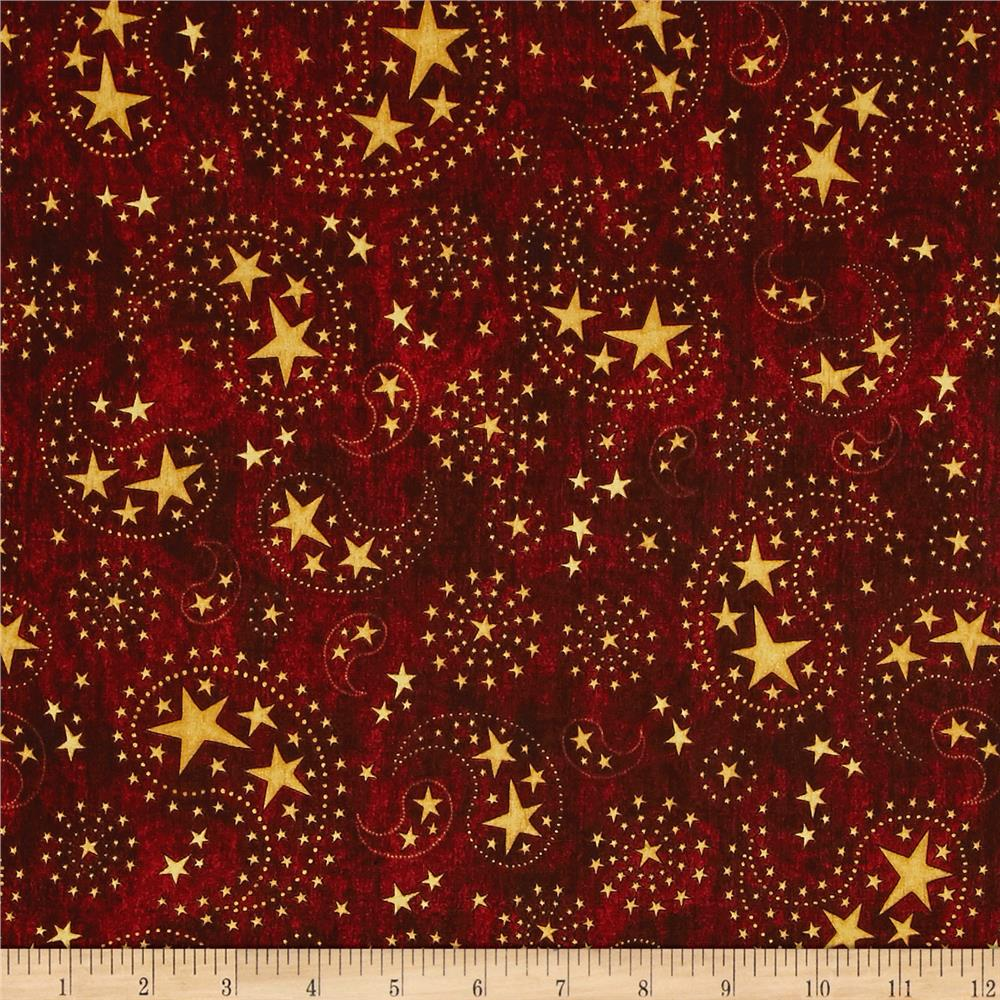 Stars & Stripes Forever Star Paisley Brick