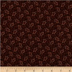 Scrap Happy Ribbon Leaf Brown